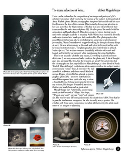 Robert Mapplethorpe | The many influences of form...