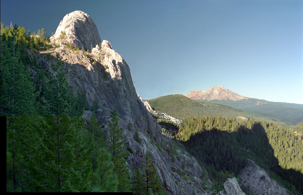 Castle Crags and Mt Shasta