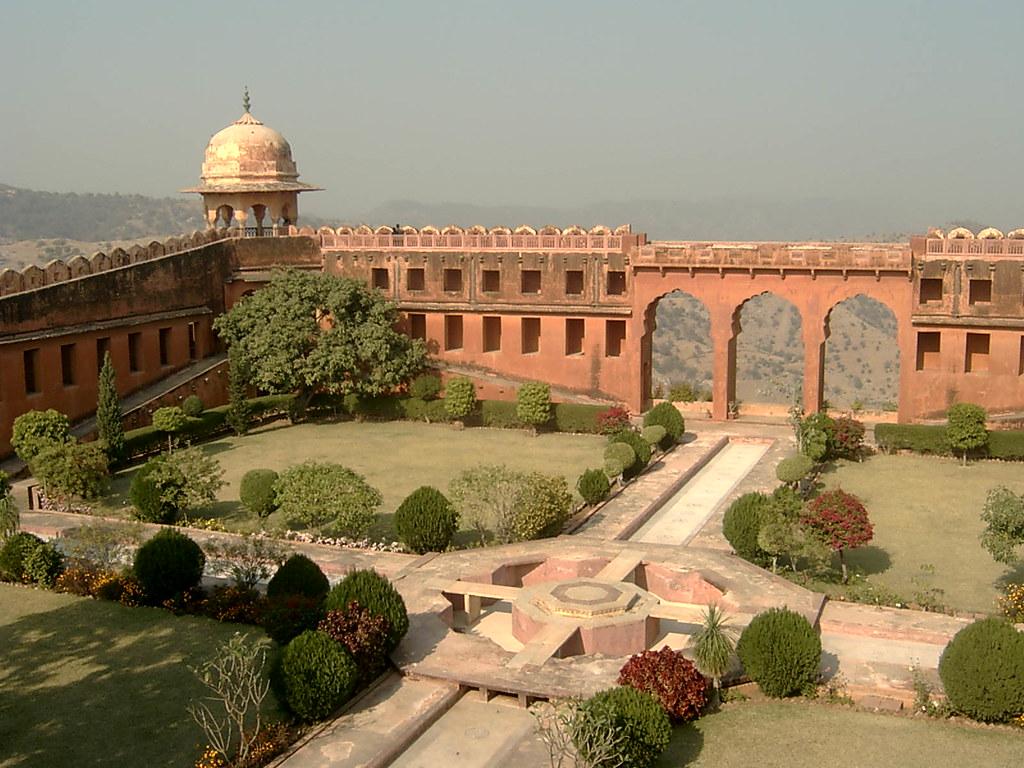 Amber | Gardens in Jaigarh Fort near Jaipur | brian bond | Flickr
