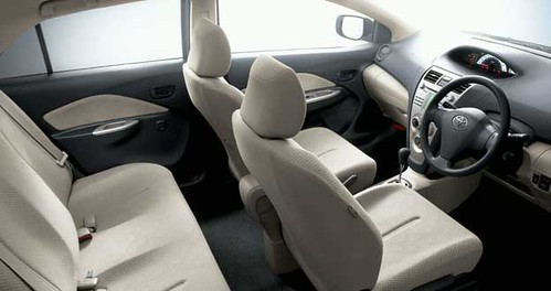 toyota belta interior interior leather seats with comforta flickr. Black Bedroom Furniture Sets. Home Design Ideas