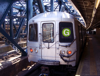 g train. brooklyn, ny. 2004. | by eyetwist