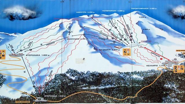 Skiing At Parnassos Ski Centre Flickr
