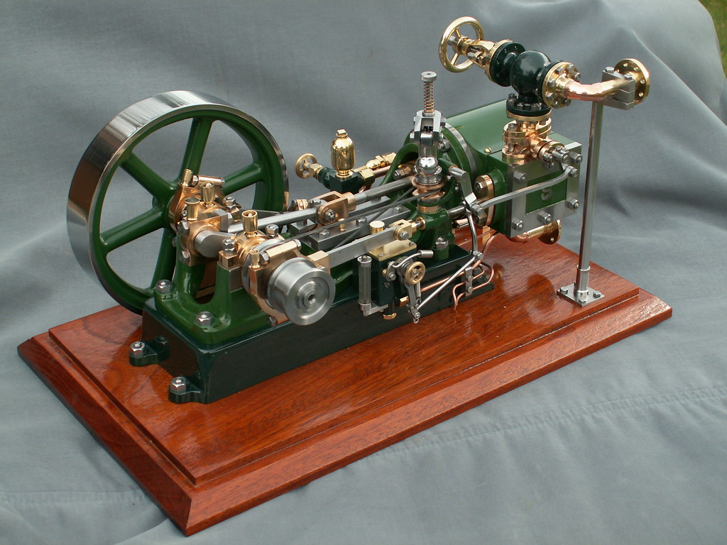 Stuart-Turner No 9 model steam engine. | Flickr - Photo Sharing!