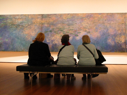 Admiring Monet at MoMA | by minor9th