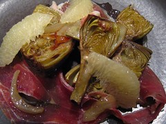 Artichokes with Grapefruit and Jamón Serrano | by In Praise of Sardines