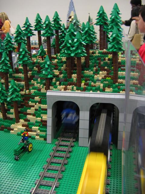 lego train tunnel instructions