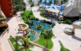 mini resort (tilt shift fake #2) | by escher_47