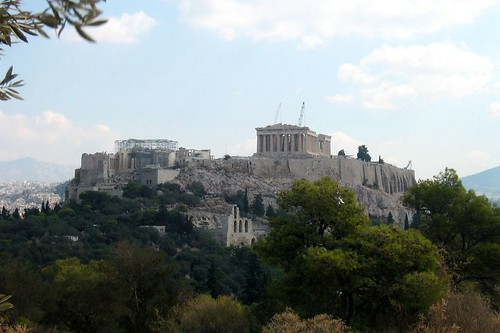 Athens: View of the Acropolis from the Pnyx | by wallyg