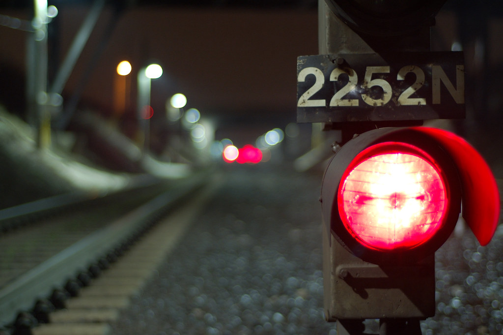by avp17 Train Track Lights. | by avp17 : train track lights - azcodes.com