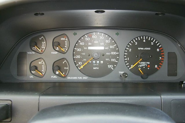 Ford Probe Gt Dash By Wheeltalk_user