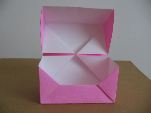 paper box origami with lid 2