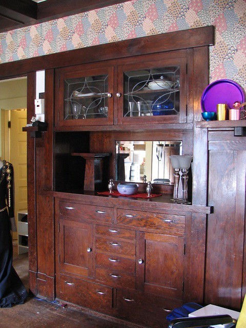 Craftsman Style Built In Sideboard: Clean! | I Cleaned Off Tu2026 | Flickr
