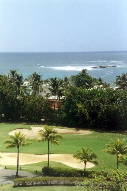 Golf R Dorado >> Puerto Rico - Dorado: Hyatt Regency Cerromar - Golf course ...