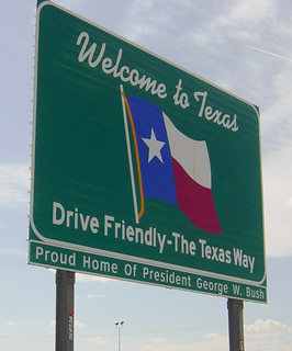 Welcome to Texas sign, I-10 | by Martin LaBar