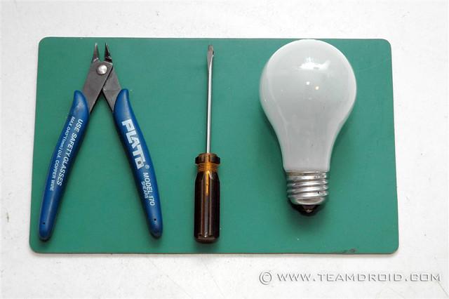 Lightbulb project diy hollow out a light bulb john for Light bulb diy projects