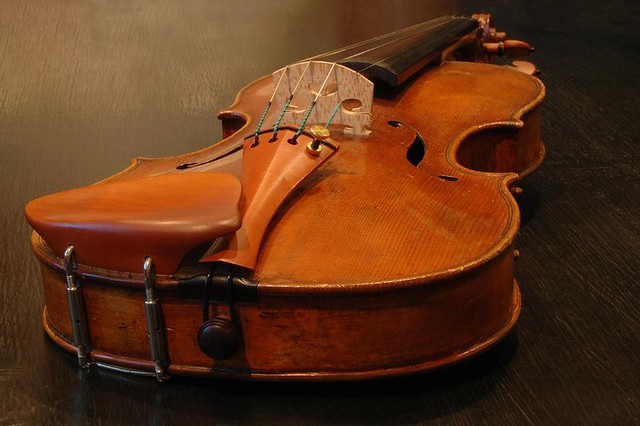 My violin made in about 1770
