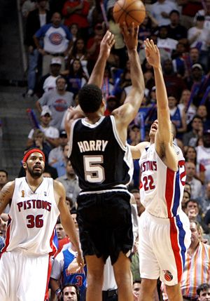 Horry shot | by basketbawful