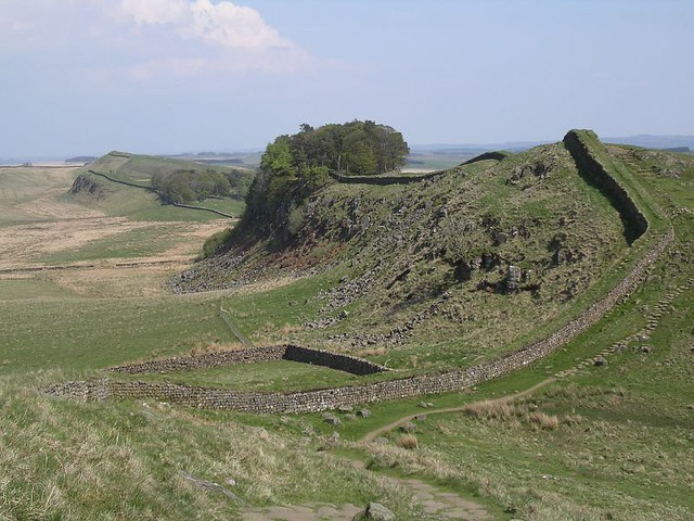 Housesteads plantation from Cuddy's Crags