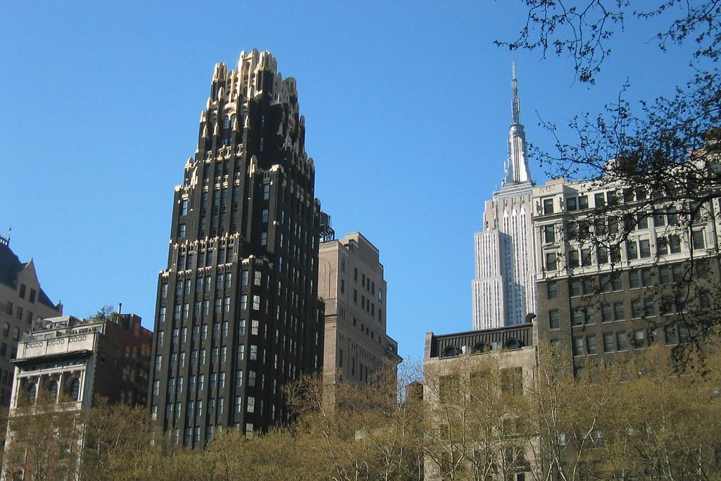 NYC: Skyscraper Panorama - American Standard Building & Em… | Flickr