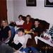 With cousins, Christmas 1997