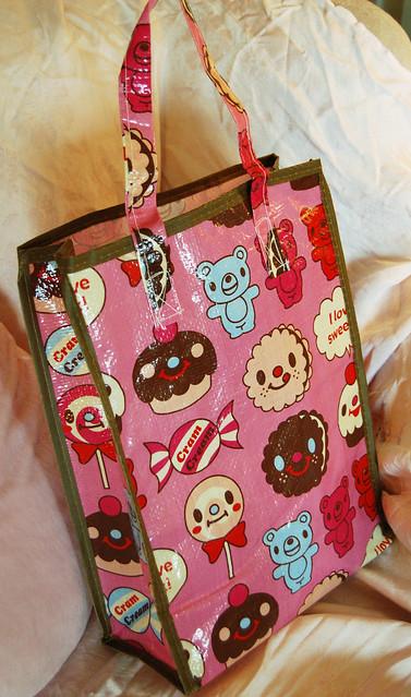 Cute Plastic Cram Cream Bag photo by iHanna