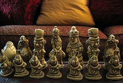 Alice in Wonderland Chess Set | by Fenchurch!