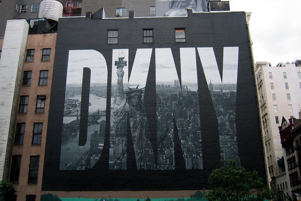 Nyc soho houston st dkny the dkny wall has become for Abercrombie mural