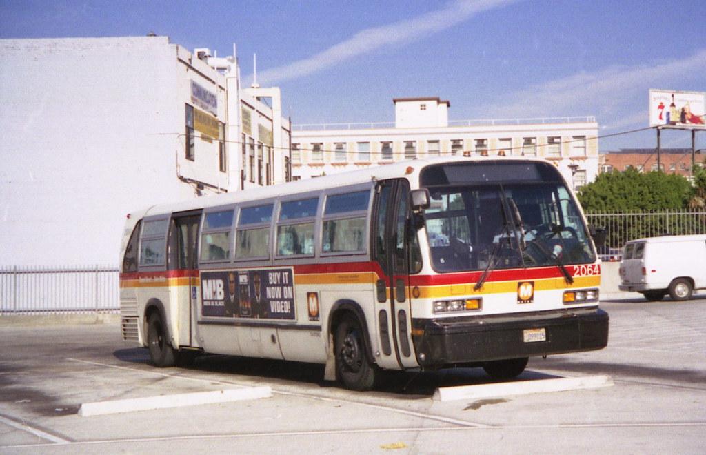 Los Angeles Bus in 1997 | GMC/TMC RTS bus of LA MTA on ...