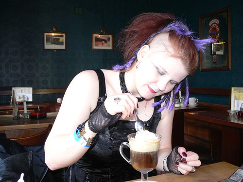 Nancy and her Irish Coffee | by Grant Mitchell