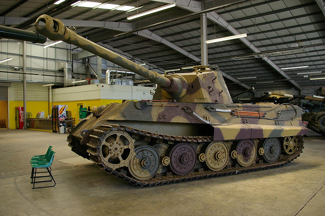 King Tiger no 2, Bovington Tank Museum, Dorset
