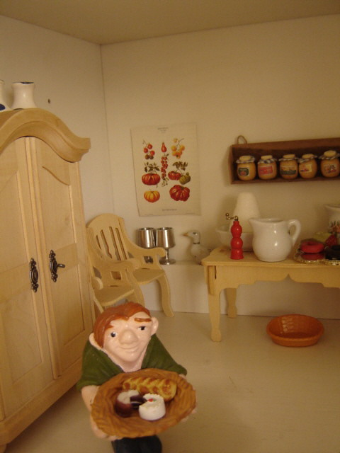 Doll house cook & kitchen