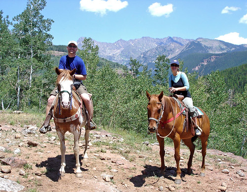 Horseback Riding in Colorado | by dustjelly