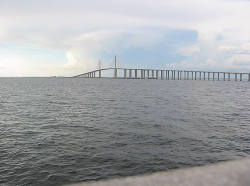 Sunshine skyway from fishing pier st petersburg florida for Skyway fishing report