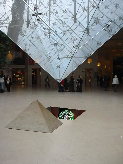 Louvre S Pyramide Inversee Secret Uncovered Beneath The