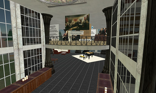"Library of Congress Exhibit Now Open In Second Life | by John ""Pathfinder"" Lester"
