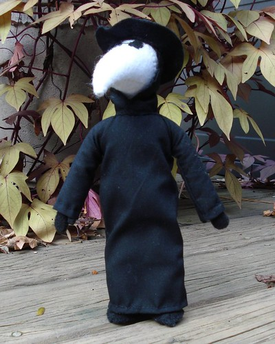 Plague Doctor, small doll | by Silent Orchid