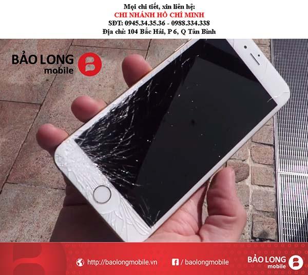 Những tình trạng thường mắc phải khi thay màn hình iPhone 6 Plus tại các trung tâm không uy tín ở trong TP.HCM