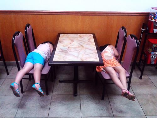 Sleeping China Wok Girls (June 8 2014)