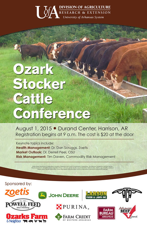 Ozark Stocker Conference poster