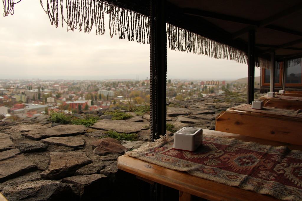 堡壘上喝茶休息吃點心的地方