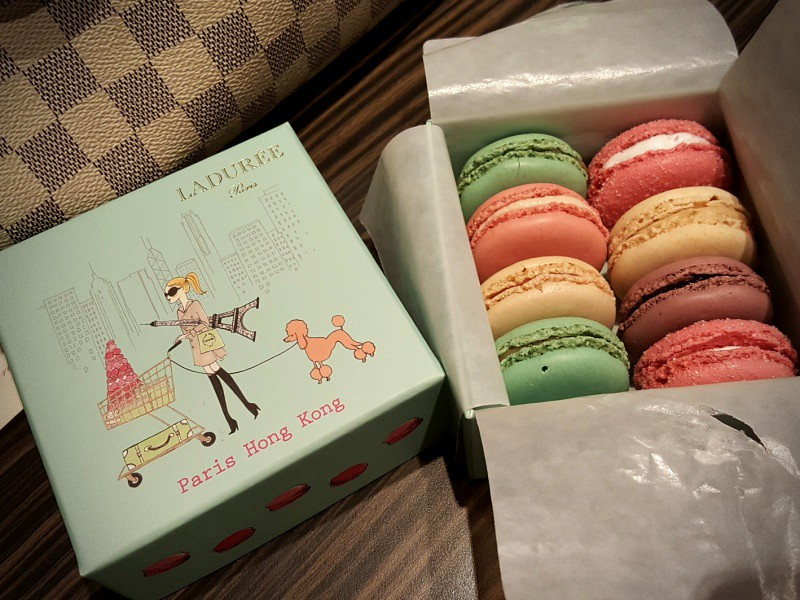 Laduree Hong Kong macarons