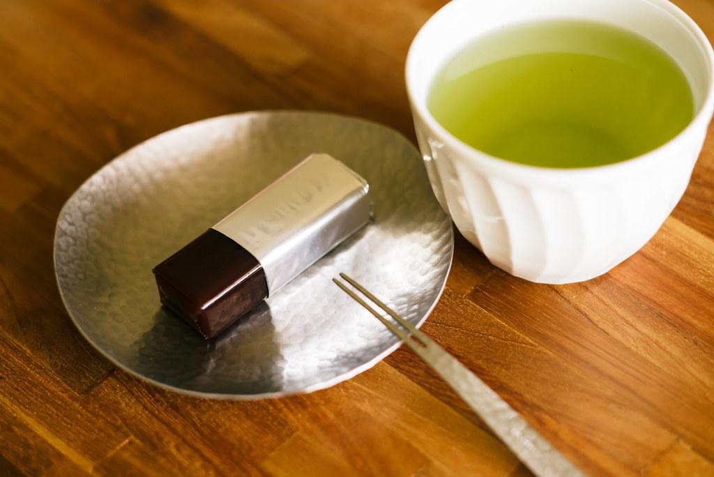 Japanese desserts green tea