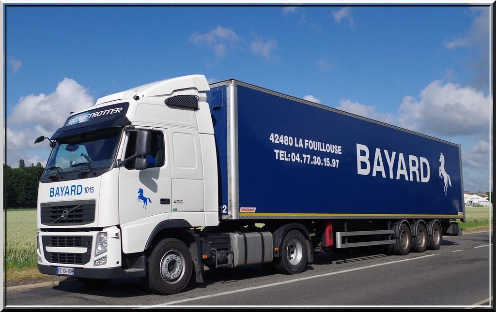 Volvo Fh460 Globetrotter Transports Bayard La Fouillouse
