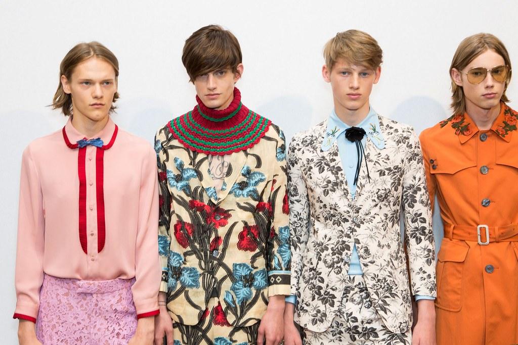 SS16 Milan Gucci262_Ryan Keating, Gabriel Hengeveld, Ole Stirnberg, Anton Toftgard(fashionising.com)