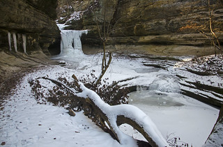 First Freeze, LaSalle Canyon | by Tom Gill.