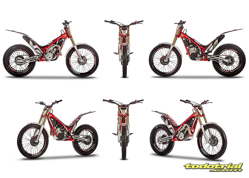 Nueva gama trial Gas Gas TXT Racing E4