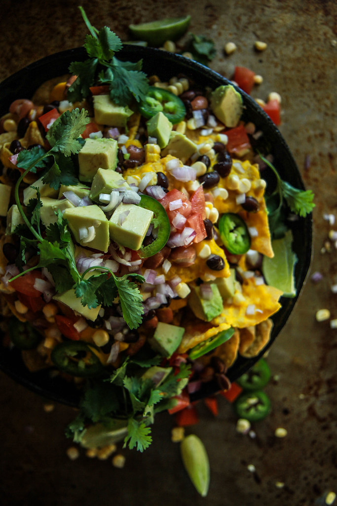 Vegan Nachos from HeatherChristo.com