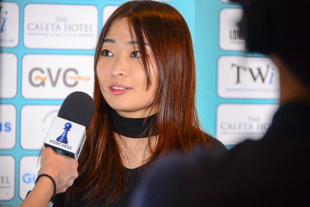 Ju Wenjun press conference