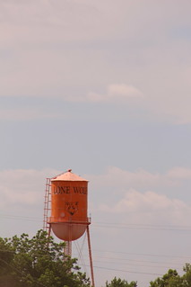 Lone Wolf water tower. We haul to the elevator there!