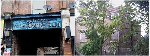 Catford Conservative Club - derelict in 2013